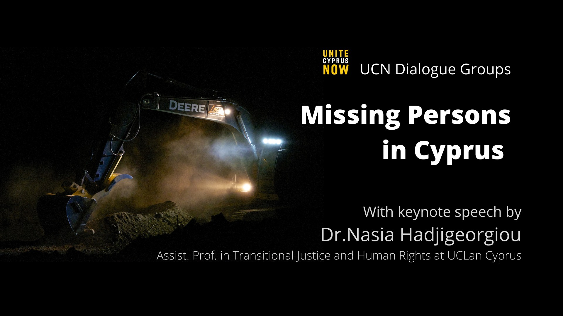 UCN dialogue group missing persons in Cyprus